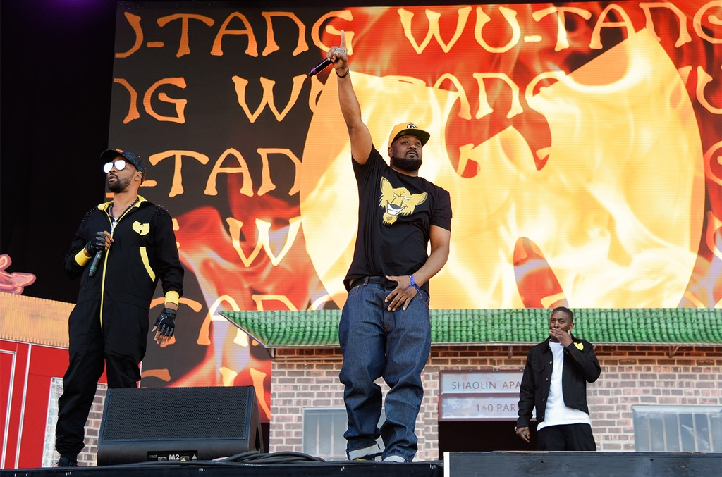 RZA, Ghostface Killah and GZA of the Wu-Tang Clan perform live on stage during the 2017 Governors Ball Music Festival - Day 2 at Randall's Island on June 3, 2017 in New York City.