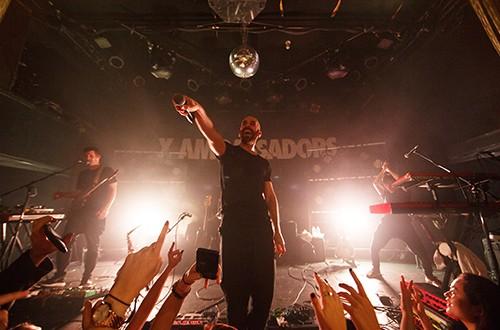 X Ambassadors perform at Bowery Ballroom