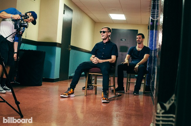 X Ambassadors photographed on August 4, 2015 in Los Angeles.
