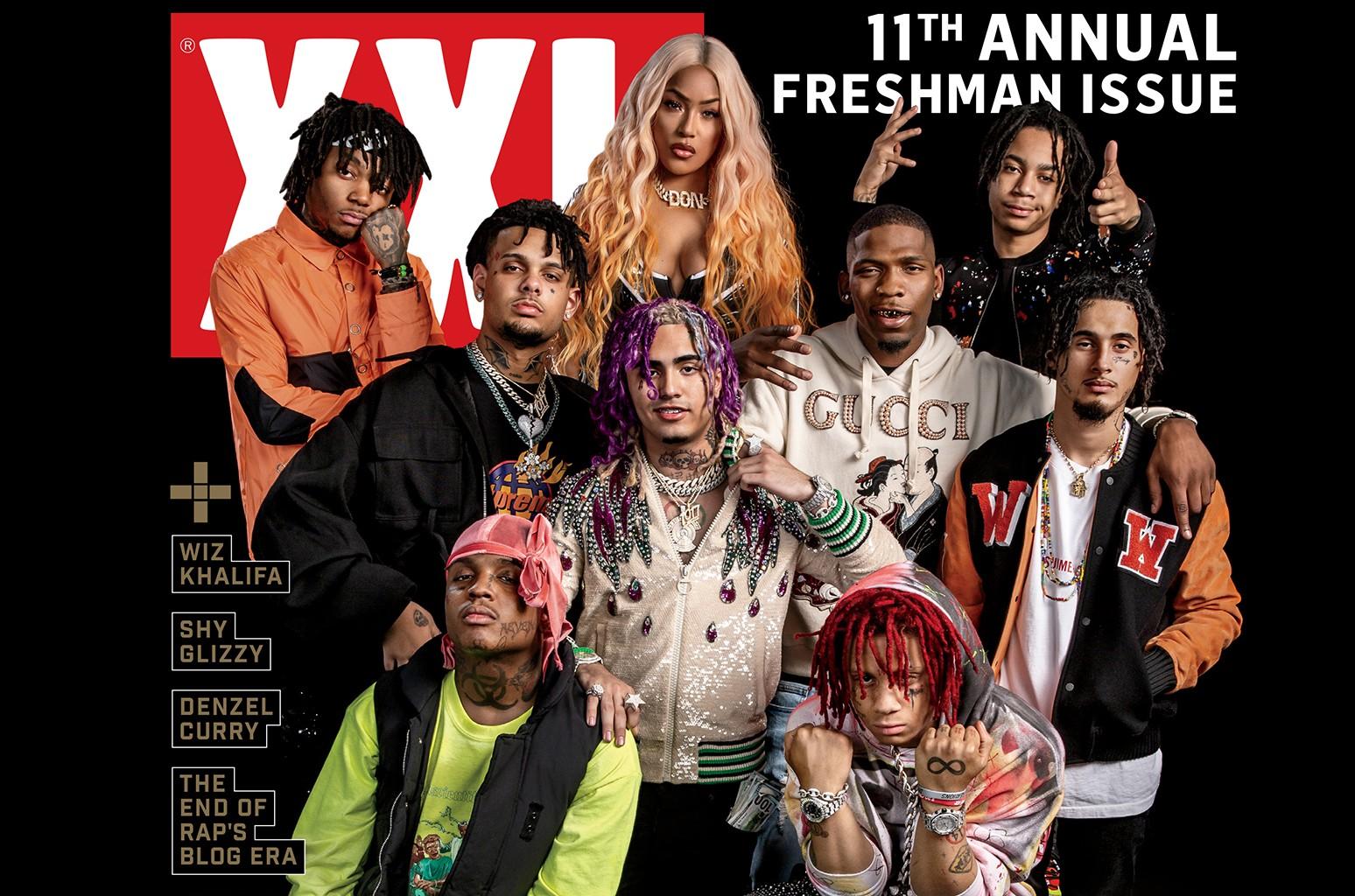 XXL's 11th Annual Freshman issue.