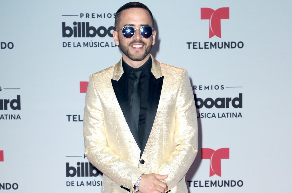 Yandel attends the Billboard Latin Music Awards at Watsco Center on April 27, 2017 in Coral Gables, Fla.