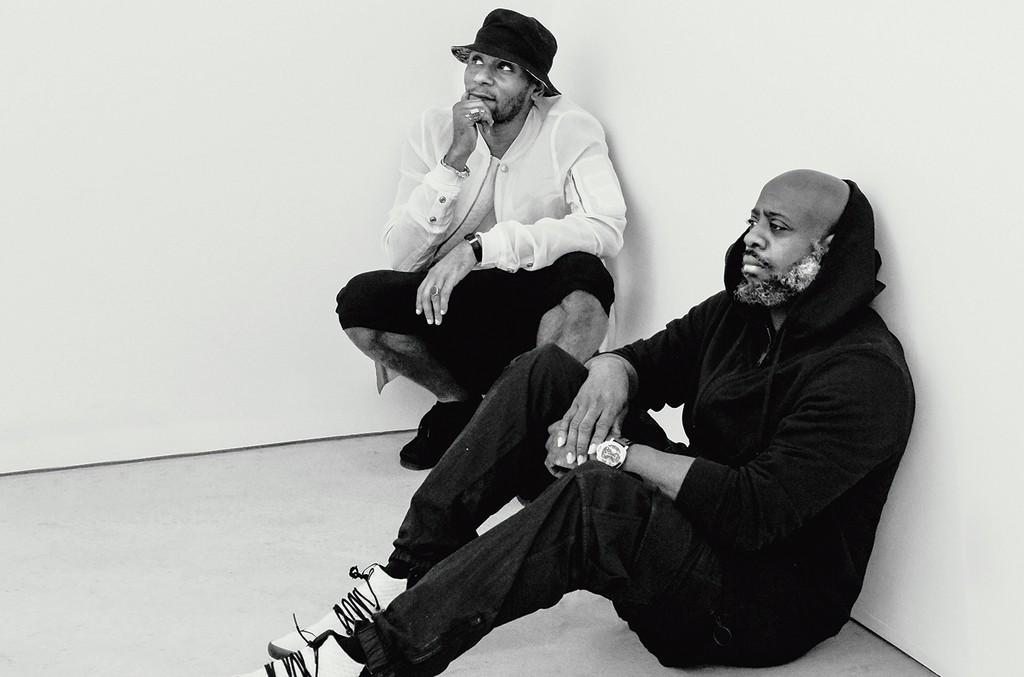 Bey (left) and Richardson.
