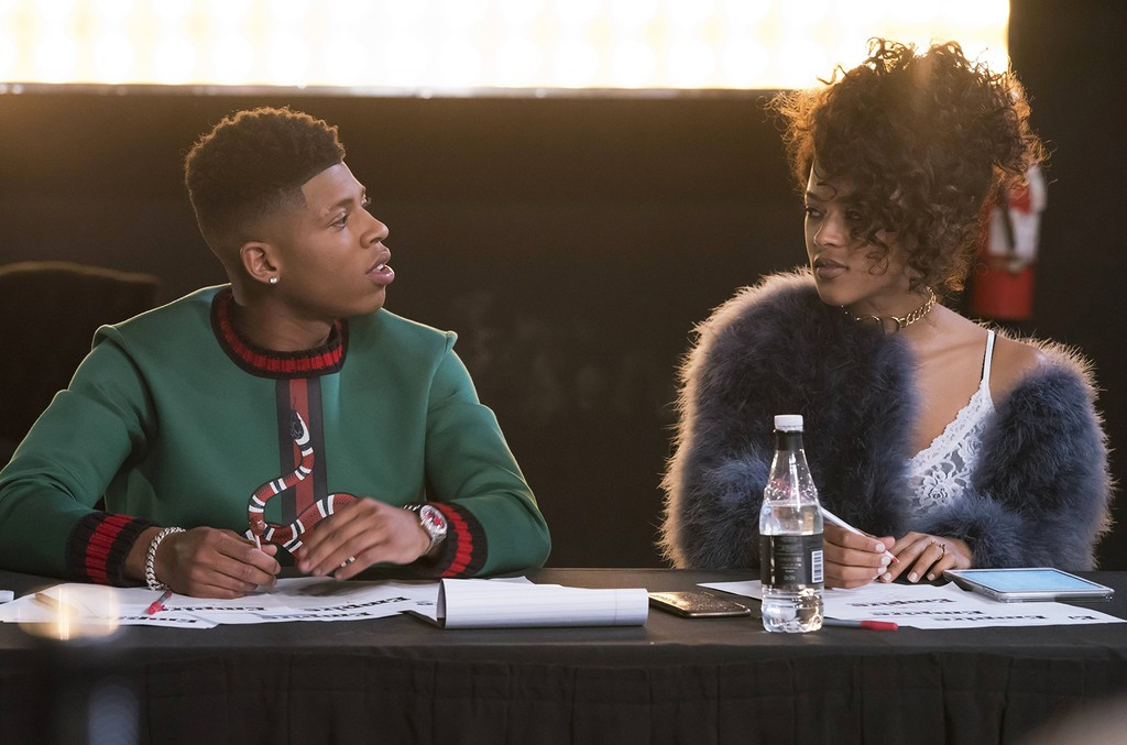 """Bryshere Gray and Serayah in the """"Play On"""" episode of Empire airing on March 29, 2017 on FOX."""