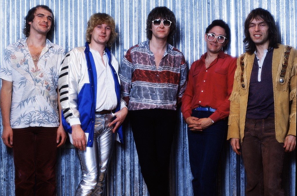 Yes photographed in 1980.