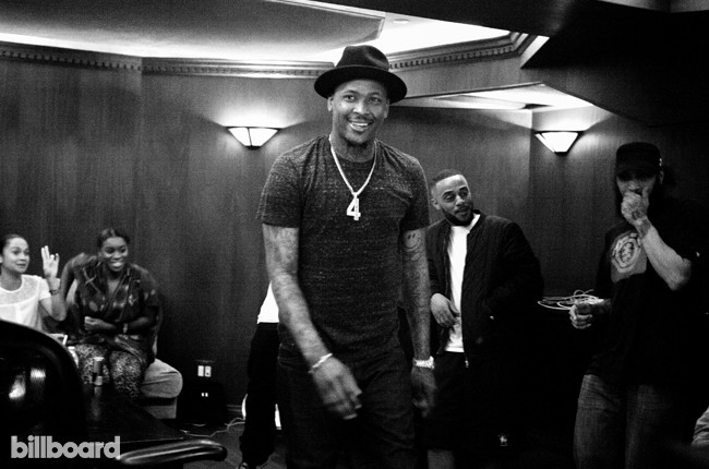 YG photographed at Nightbyrd Studios on June 19, 2015 in West Hollywood, Calif.