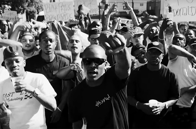 YG  Nipsey Hussle FDT fuck donald trump 2016
