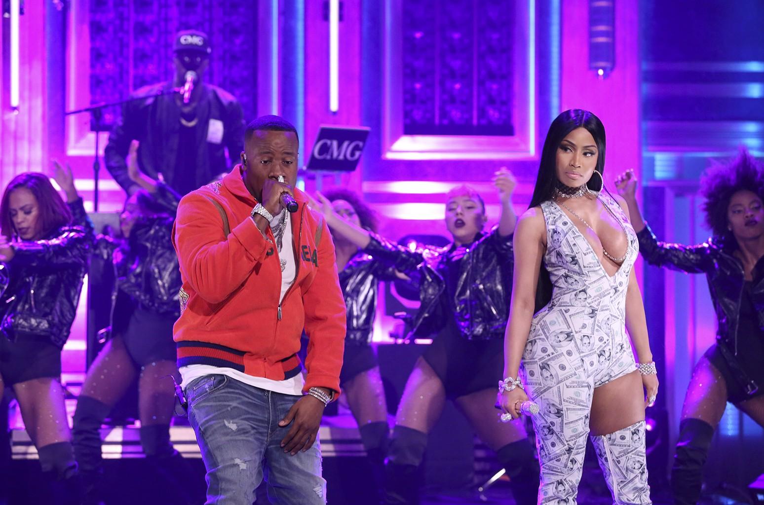 Yo Gotti and Nicki Minaj, 2017