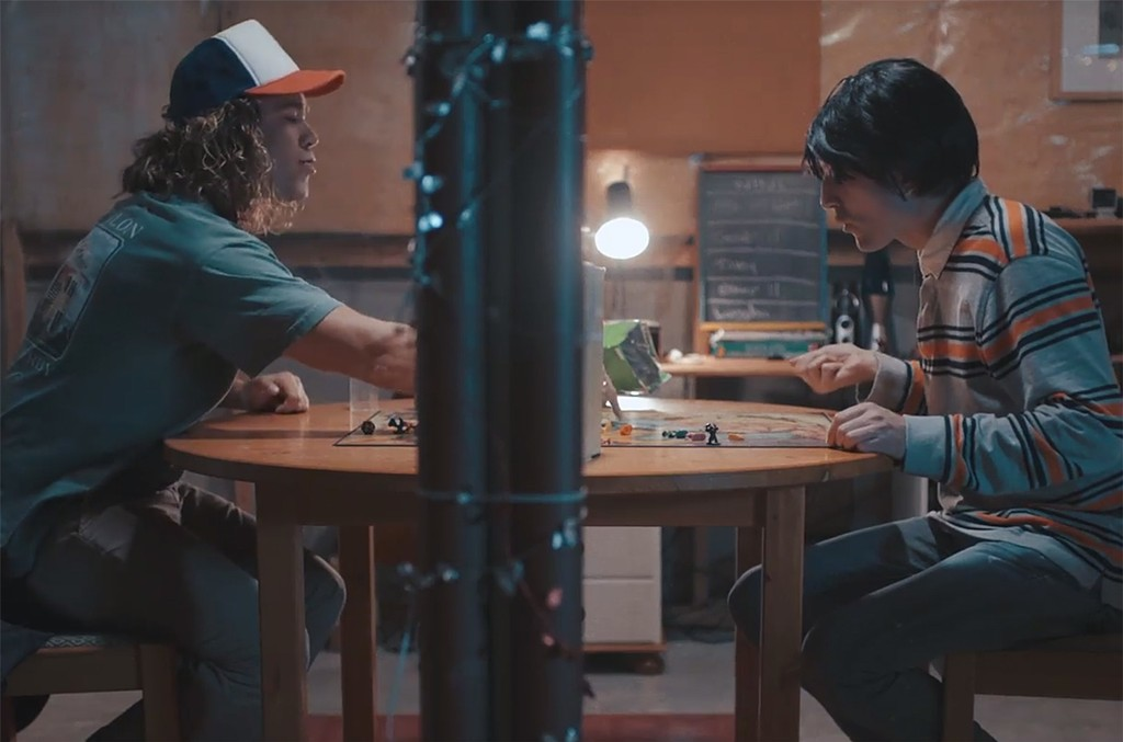 Young Bombs' Stranger Things spoof