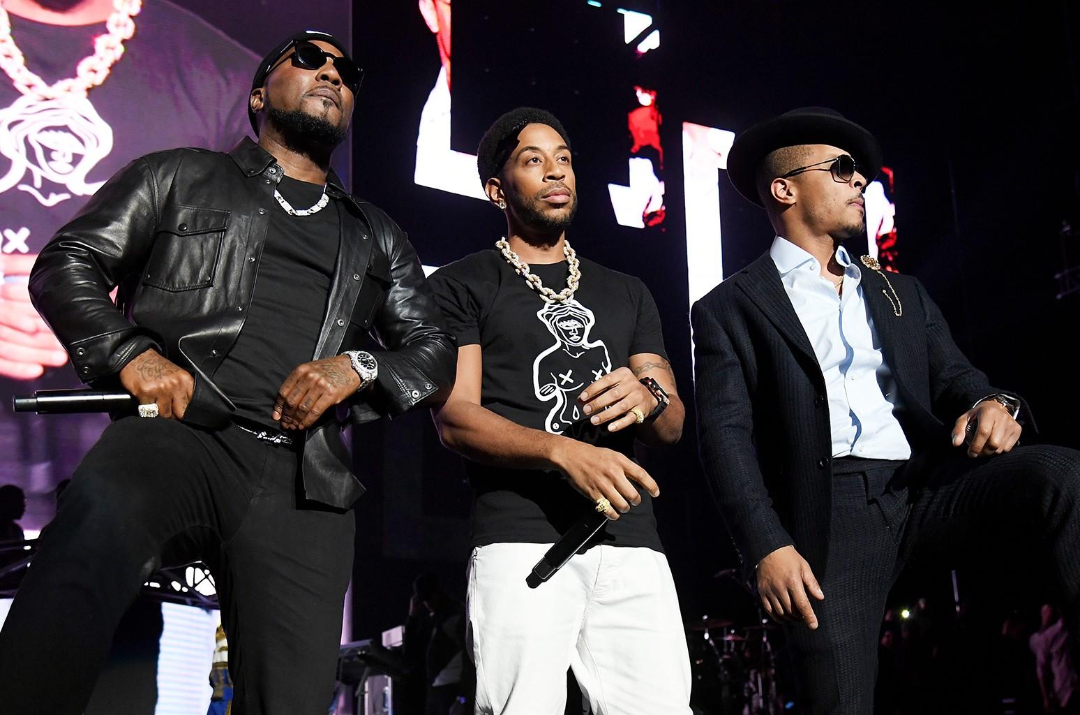 Young Jeezy Ludacris TI