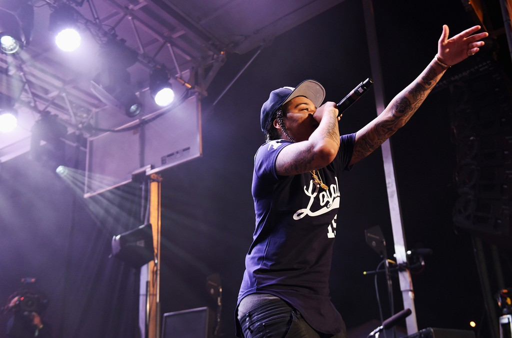 Young M.A. performs onstage during Pandora at SXSW 2017 on March 16, 2017 in Austin, Texas.
