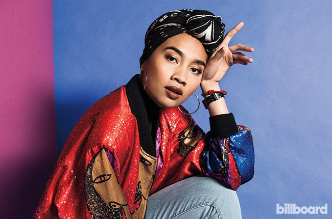 Yuna photographed March 4 at Studio 1342 in Los Angeles.