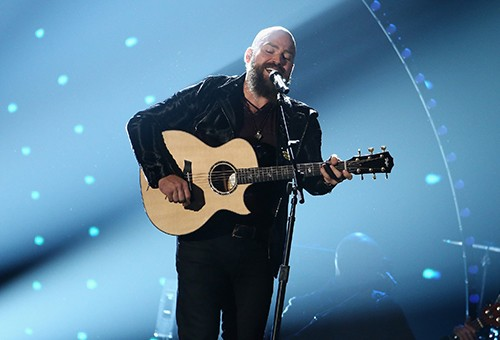 Zac Brown of Zac Brown Band performs onstage at the 49th annual CMA Awards