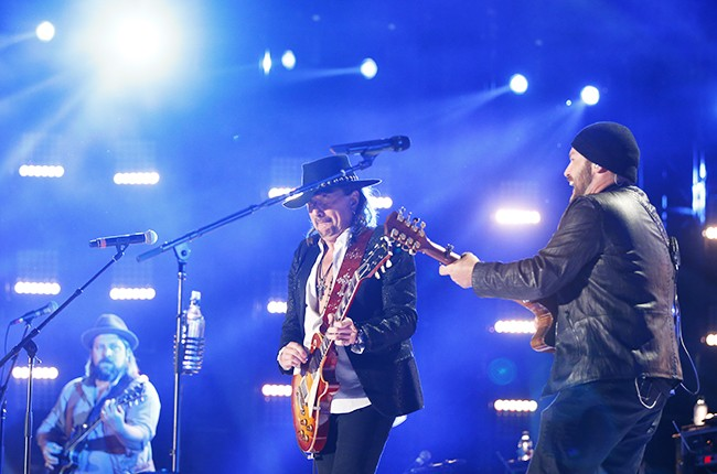 Zac Brown Band performs at 2014 CMA Music Festival