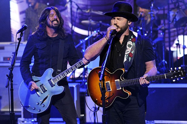 Zac Brown and Dave Grohl, 2014.