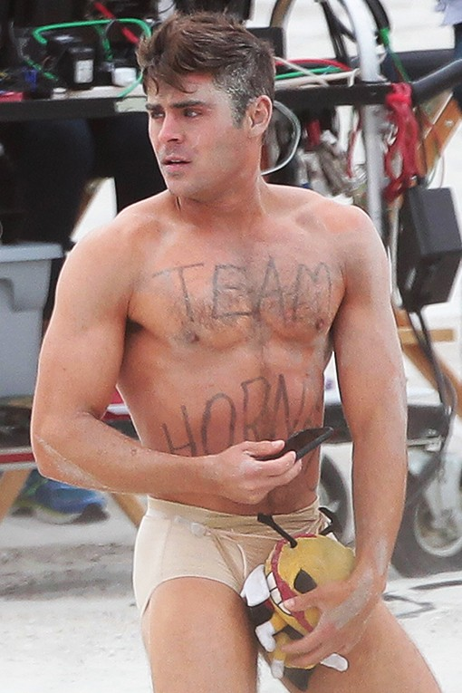 Zac efron debuts dad bod, sends twitter into meltdown