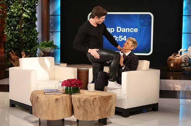 Zac Efron The Ellen DeGeneres Show