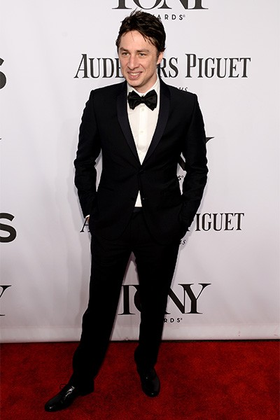 Zach Braff attends the 68th Annual Tony Awards