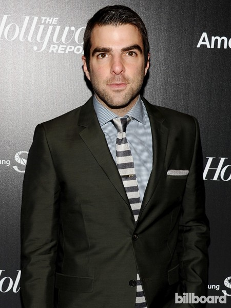 Zachary Quinto attends The 35 Most Powerful People in Media hosted by The Hollywood Reporter