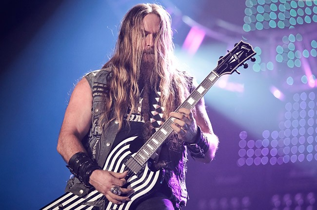 Zakk Wylde of Black Label Society performs on stage during the Marshall 50 Years Of Loud concert celebrating Marshall Amplifiers 50th anniversary at Wembley Arena on September 22, 2012 in London, United Kingdom. (Photo by Christie Goodwin/Redferns via Get