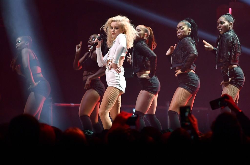Zara Larsson at the MTV Europe Music Awards