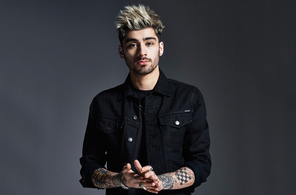 Zayn photographed in 2015.