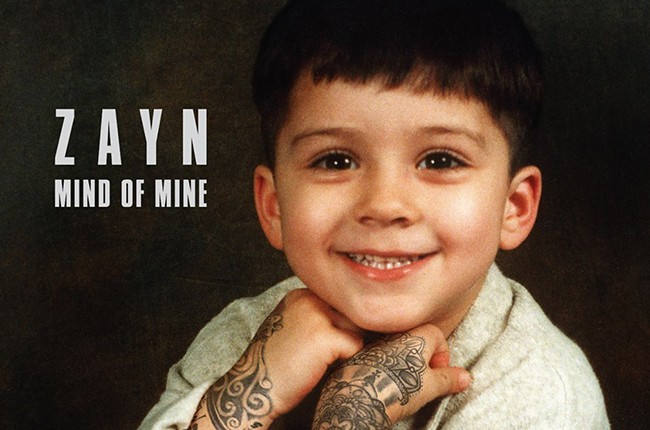Zayn Malik Mind of Mine 2016