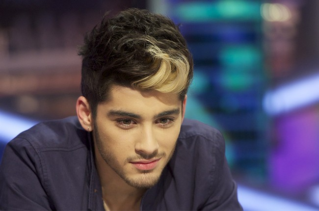 "Zayn Malik of One Direction attends ""El Hormiguero"" Tv show at Vertice Studio on October 31, 2012 in Madrid, Spain."