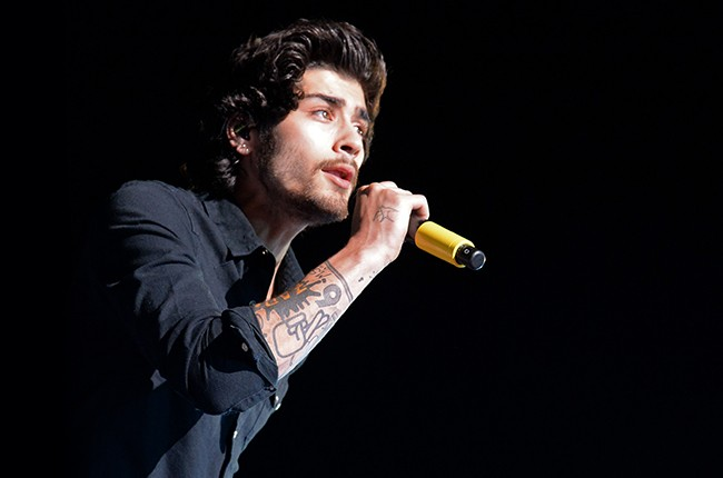 Zayn Malik of One Direction performs onstage during the One Direction