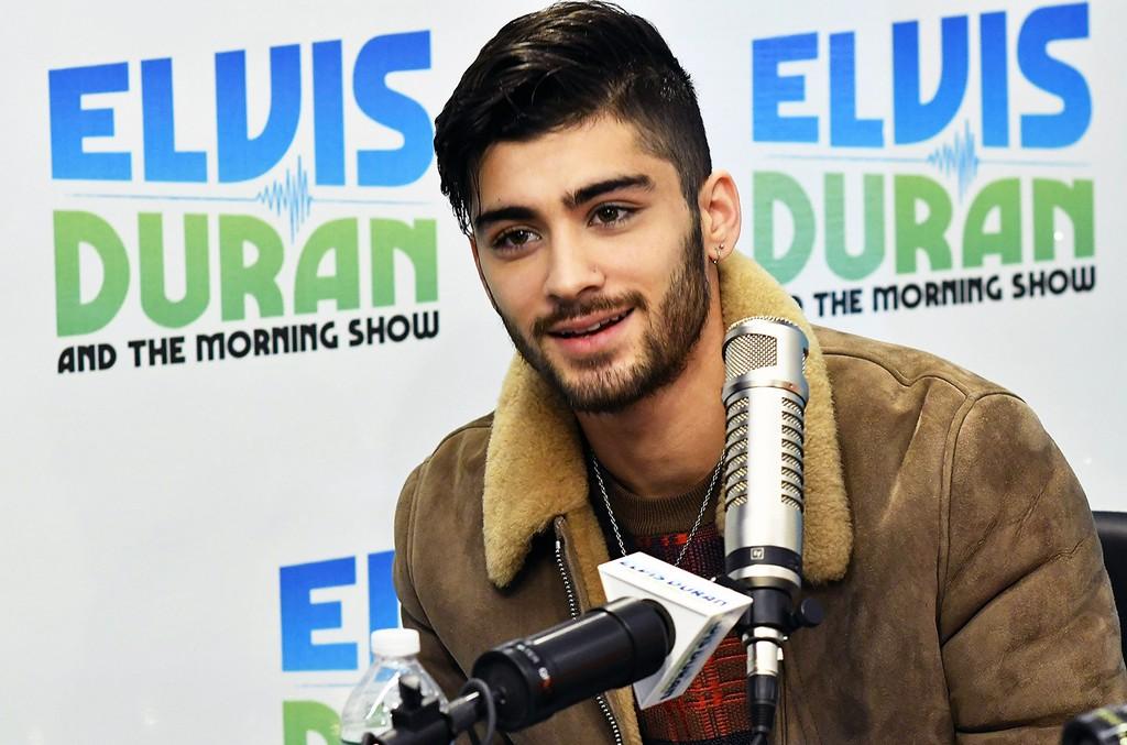 "Zayn Malik visits ""The Elvis Duran Z100 Morning Show"""