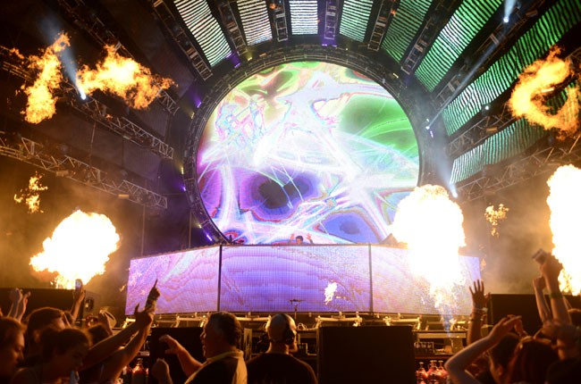 Zedd performs during the Ultra Music Festival