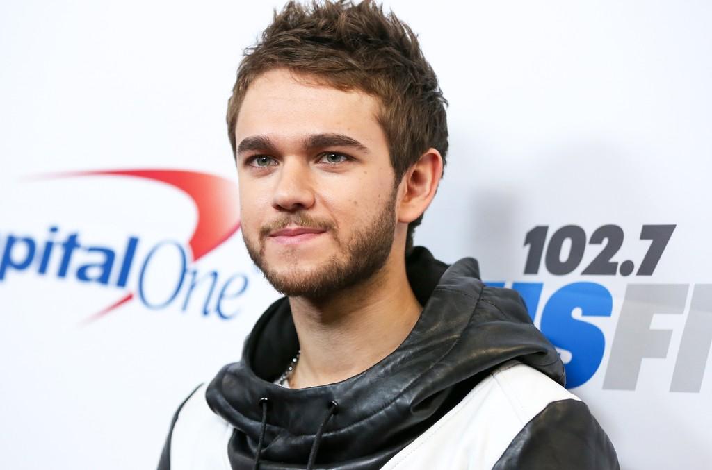 Zedd arrives at Staples Center in Los Angeles