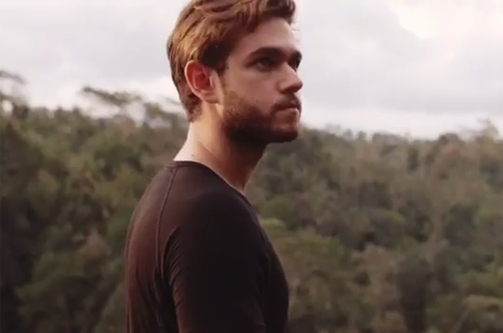 A scene from Zedd's Indonesia recap video.