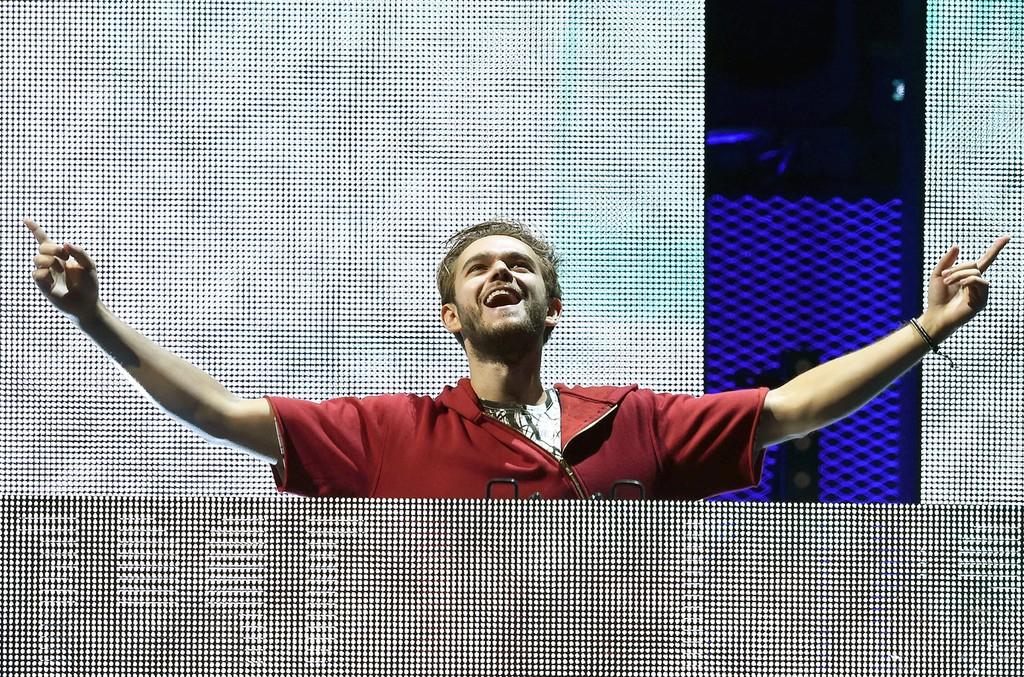 Zedd performs at the 2016 iHeartRadio Music Festival