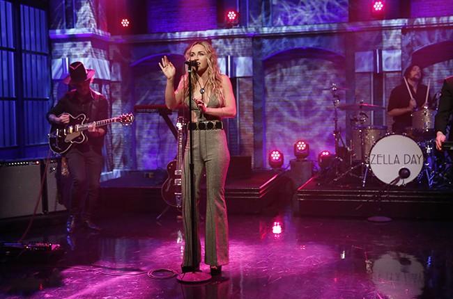 Zella Day Late Night with Seth Meyers