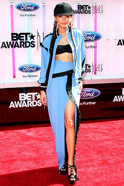 Zendaya at the 2014 BET Awards