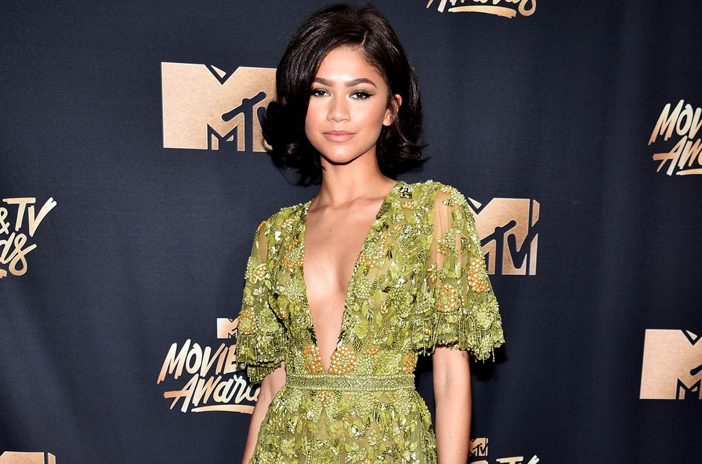 Zendaya attends the 2017 MTV Movie and TV Awards at The Shrine Auditorium on May 7, 2017 in Los Angeles.
