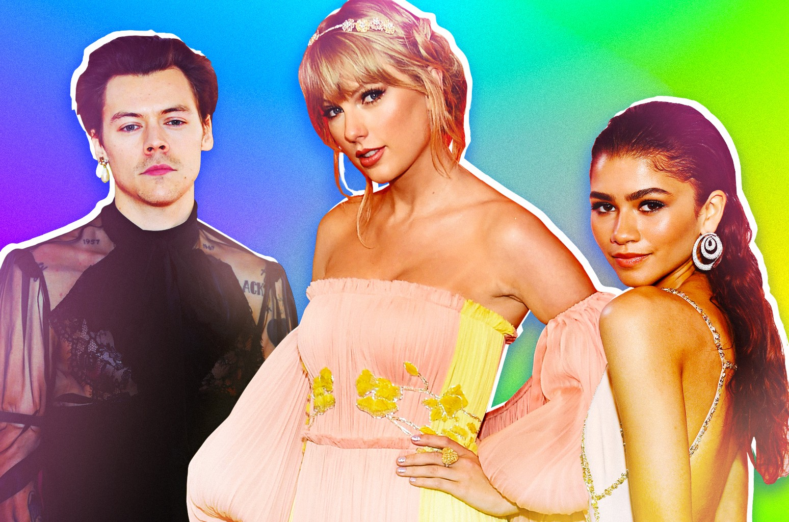 Harry Styles, Taylor Swift & Zendaya