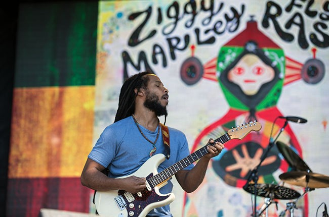 Ziggy Marley at Firefly 2014