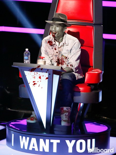 Zombies -- Pharrell Williams on The Voice