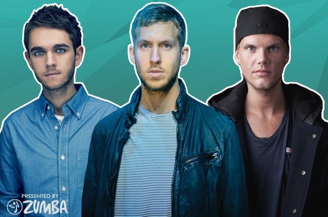 Zedd, Calvin Harris and Avicii