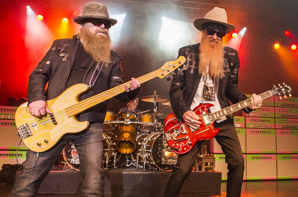 ZZ Top perform at O2 Academy