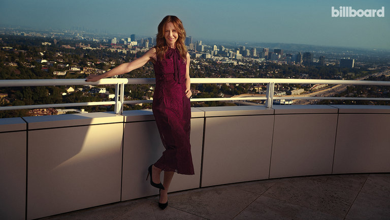 <p>Jody Gerson photographed on Jan. 13, 2020 at Getty Center in Los Angeles.</p>