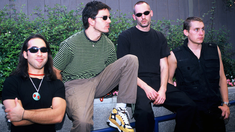 <p>Third Eye Blind photographed at Live 105&#39&#x3B;s BFD 1997 at Shoreline Amphitheatre on June 13, 1997 in Mountain View,&nbsp&#x3B;Calif.</p>