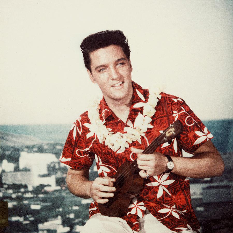 Elvis Presley photographed in 1961.