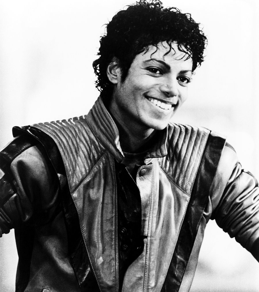 Michael Jackson photographed in 1982.