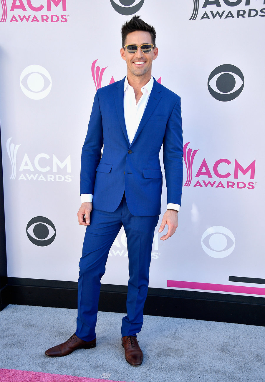 Jake Owen attends the 52nd Academy Of Country Music Awards at Toshiba Plaza on April 2, 2017 in Las Vegas.