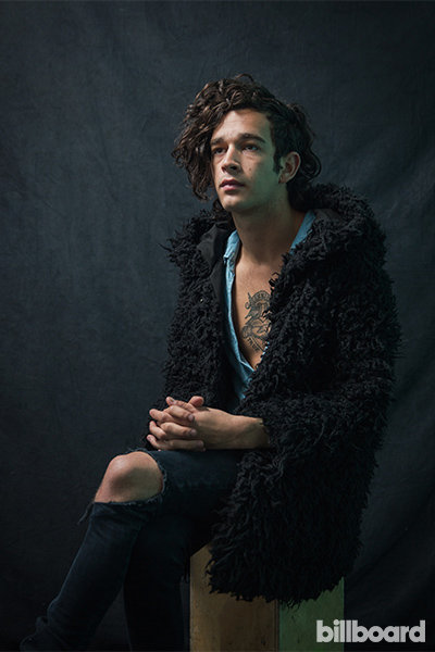 Portrait of The 1975 at Governors Ball 2014