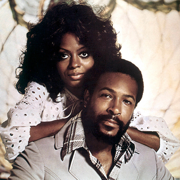 Marvin Gaye and Diana Ross