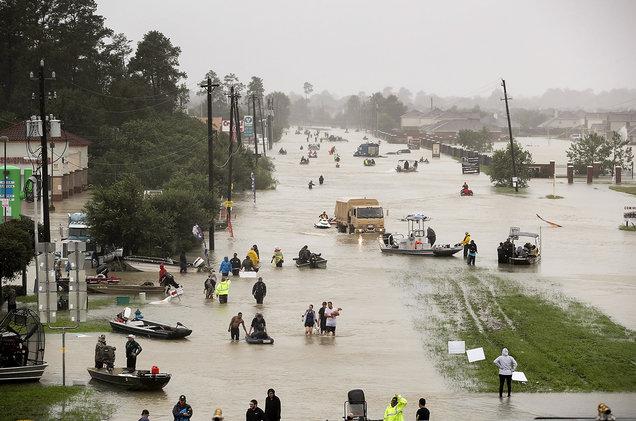Hurricane Harvey, 2017