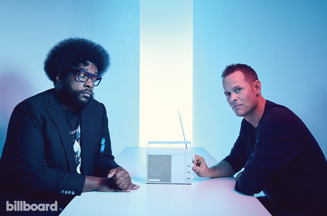 Questlove and Tim Westergren photographed on Dec. 7, 2016 at Root Studios in New York.